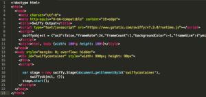Exemple de code HTML5