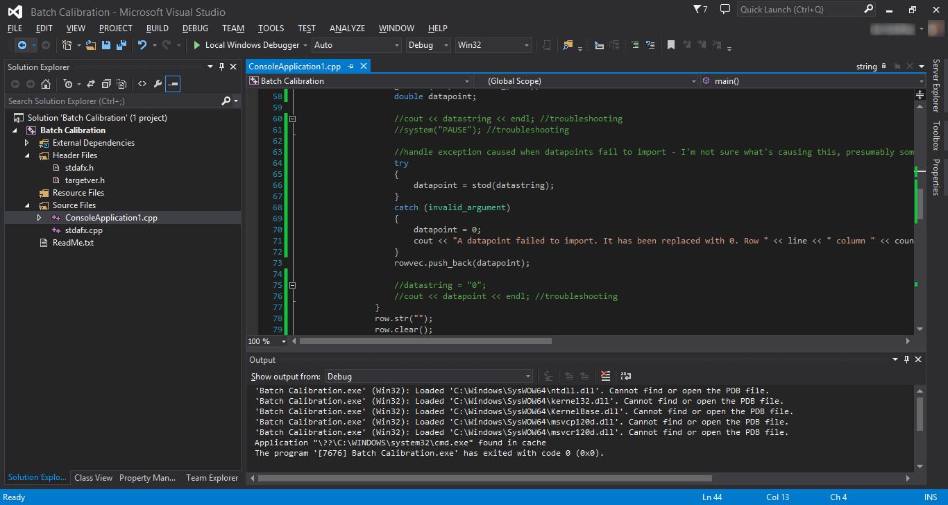 Exemple de Visual Studio